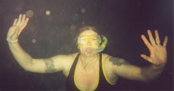 Brenda snorkelling
